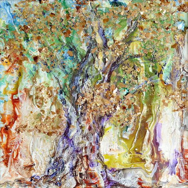 Painting - Grandeur by Regina Valluzzi