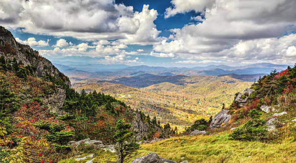 Photograph - Grandfather Mountain 12/13 Panorama 2016 by Jim Dollar