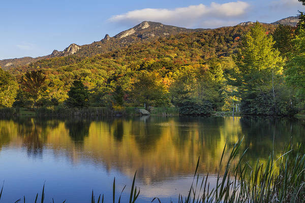 Photograph - Grandfather Mountain Lake Reflections by Ken Barrett