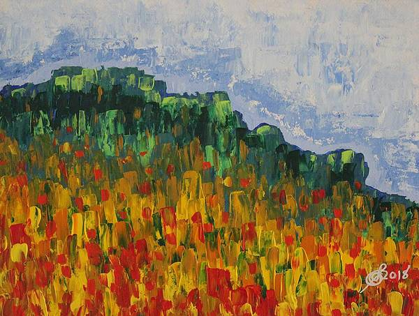 Painting - Grandfather Mountain Original Painting by Sol Luckman