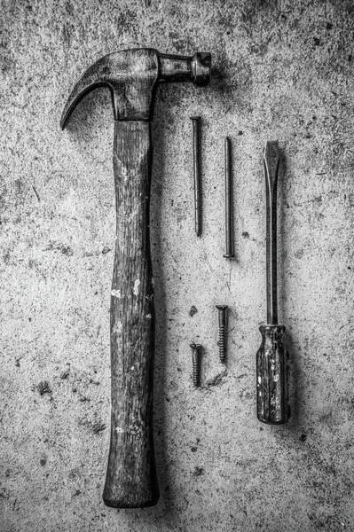 Photograph - Grandfather's Tools 3 by Michael Arend