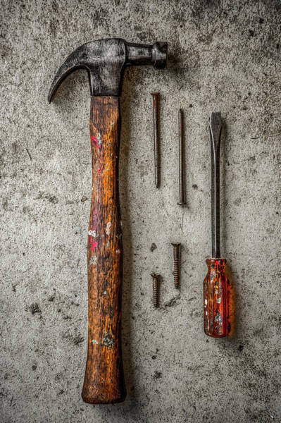Photograph - Grandfather's Tools by Michael Arend