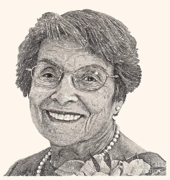 Grandma Wall Art - Drawing - Grandma Volpicelli by Michael Volpicelli