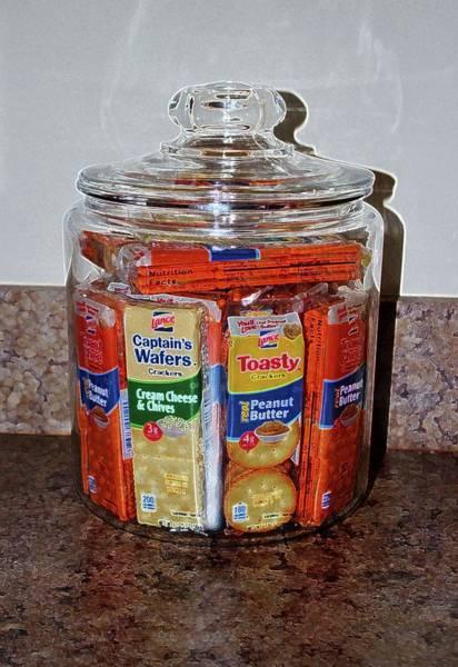 Photograph - Grandma's Cracker Jar by Cynthia Guinn