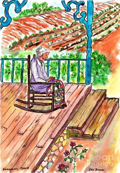 Mixed Media - Grandmas Place by Philip Bracco