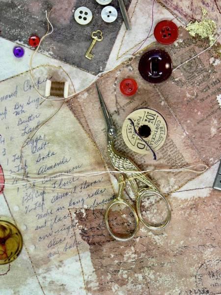 Tapestry - Textile - Grandma's Cookies by Pat Dolan