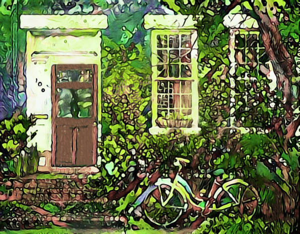 Mixed Media - Grandmom's House by Susan Maxwell Schmidt