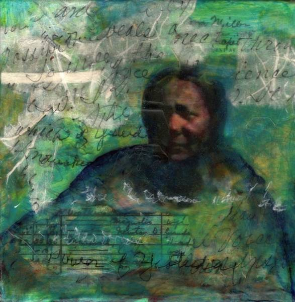 Mixed Media - Grandmother Cora-study by Cora Marshall
