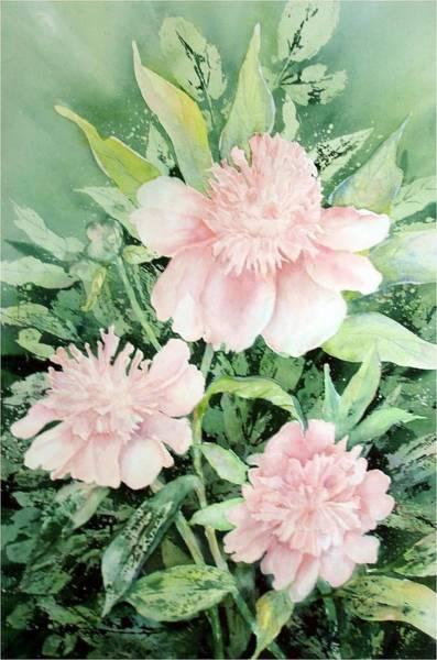Painting - Grandmother's Garden by Pamela Lee