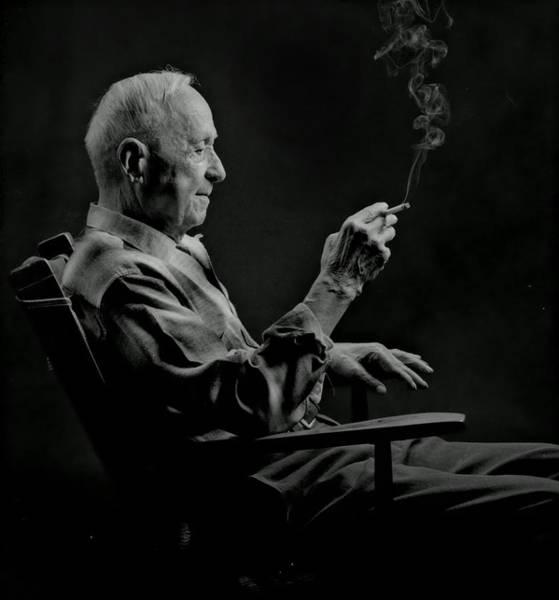 Grandpa Photograph - Grandpa by Don Wolf