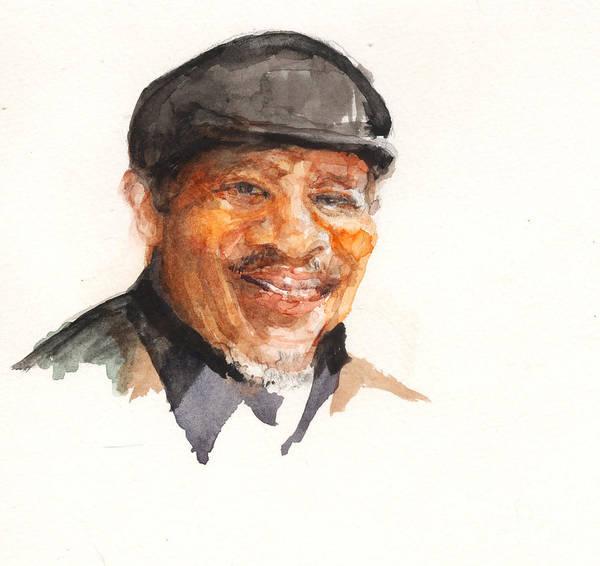 Painting - Grandpa John Perkins by Nancy Watson