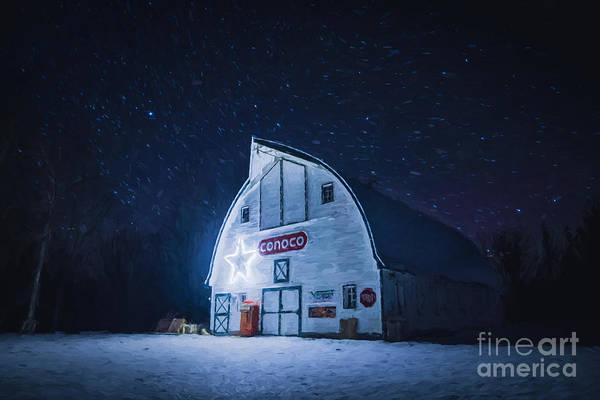 Photograph - Grandpa's Barn by Lori Dobbs