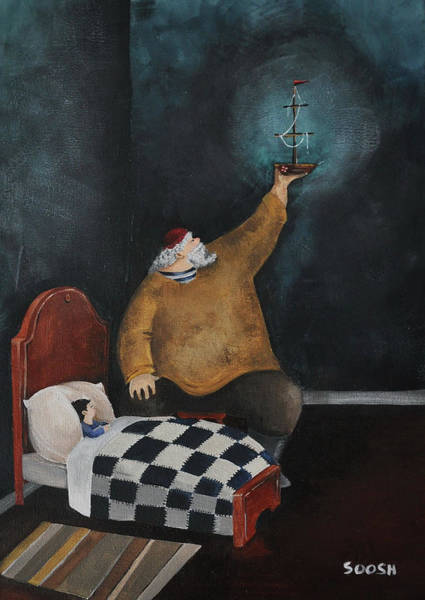 Imaginative Painting - Grandpa's Bedtime Stories by Soosh