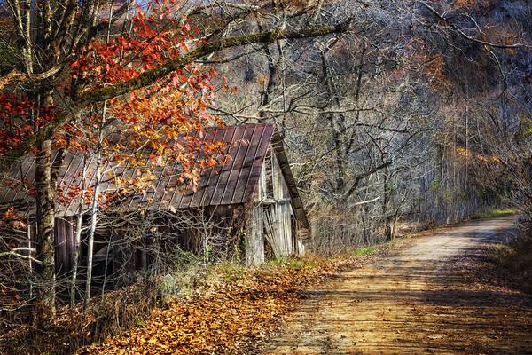 Grandpa Photograph - Grandpa's Old Barn by Debra and Dave Vanderlaan