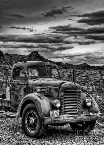 Photograph - Grandpa's Ride by Eddie Yerkish