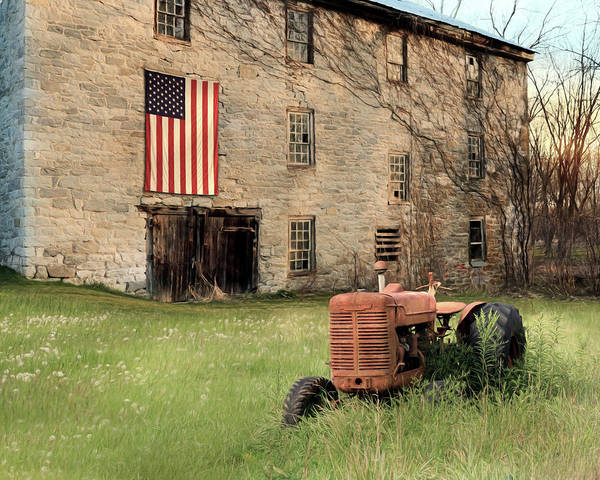 Wall Art - Photograph - Grandpa's Tractor by Lori Deiter