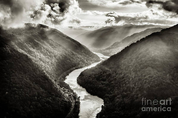 Photograph - Grandview In Black And White by Thomas R Fletcher