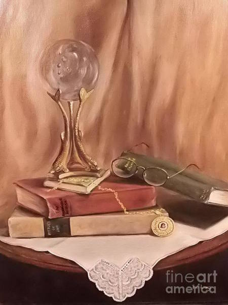 Wall Art - Painting - Grannie's Locket by Patricia Lang