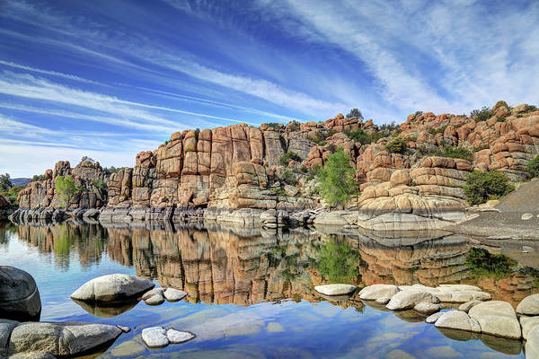 Wall Art - Photograph - Granite Dells At Watson Lake by Donna Kennedy