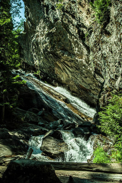 Photograph - Granite Falls Of Ancient Cedars by Troy Stapek