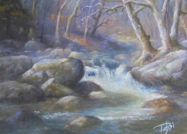 Pastel - Granite Run by Bill Puglisi