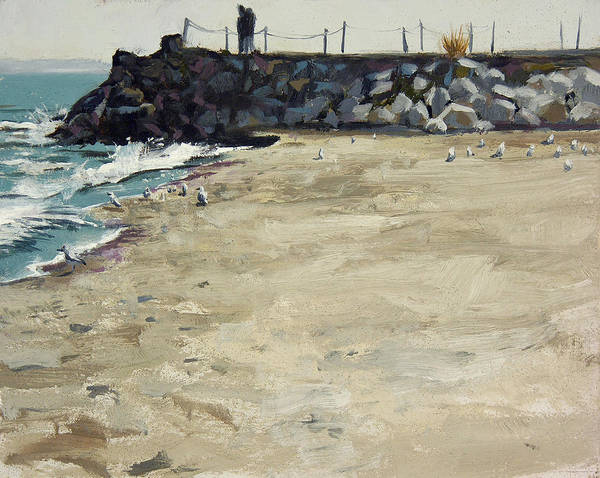 Grant Park Beach No. 5 Art Print by Anthony Sell
