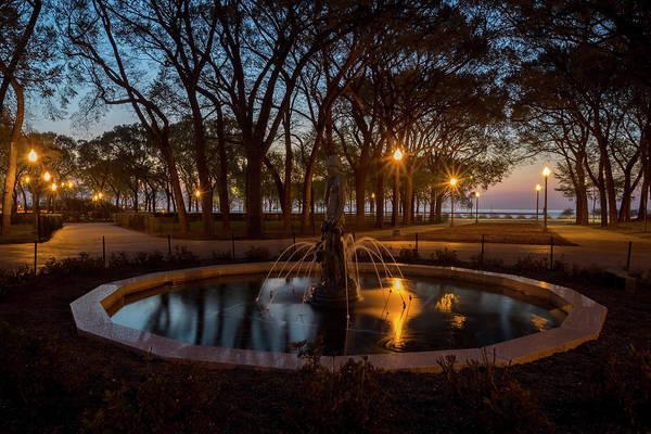 Photograph - Grant Park Scene At Dawn  by Sven Brogren