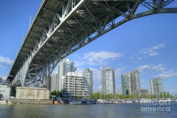 Photograph - Granville Street Bridge  by David Birchall