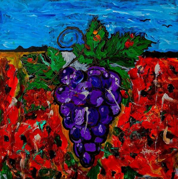 Painting - Grape Jazz by Neal Barbosa