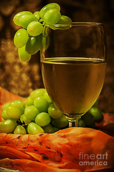 Photograph - Grape Juice by Mechala Matthews