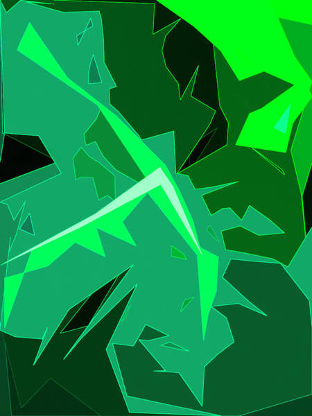 Digital Art - Grape Leaves by Gina Harrison