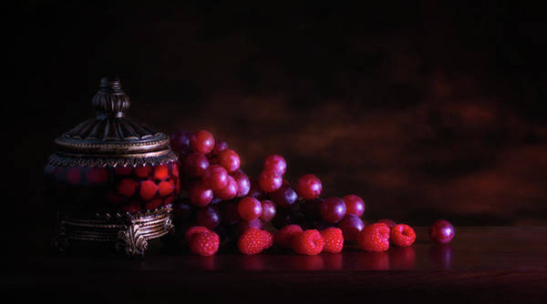 Atmospheric Photograph - Grape Raspberry by Tom Mc Nemar