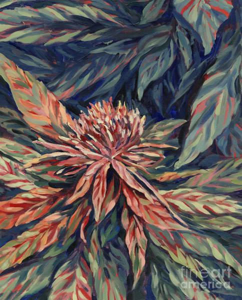 Bud Painting - Grapefruit by Mary Jane