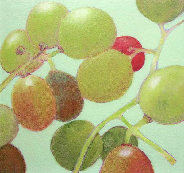 Painting - Grapes #6 by Kazumi Whitemoon