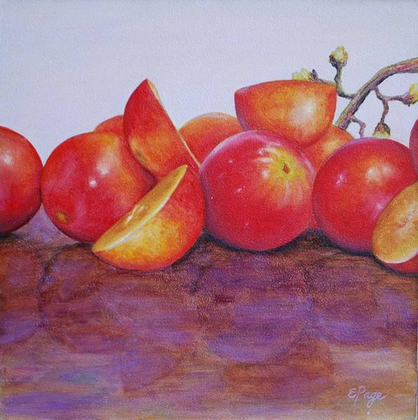 Painting - Grapes by Emily Page