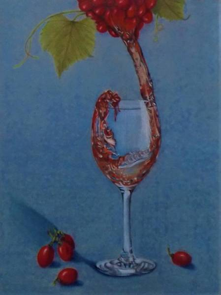 Drawing - Grapes To Wine by Chuck Caputo