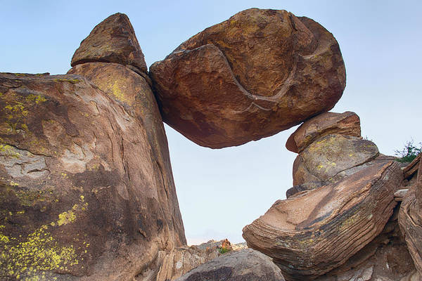Photograph - Grapevine Hills Balanced Rock by Rospotte Photography