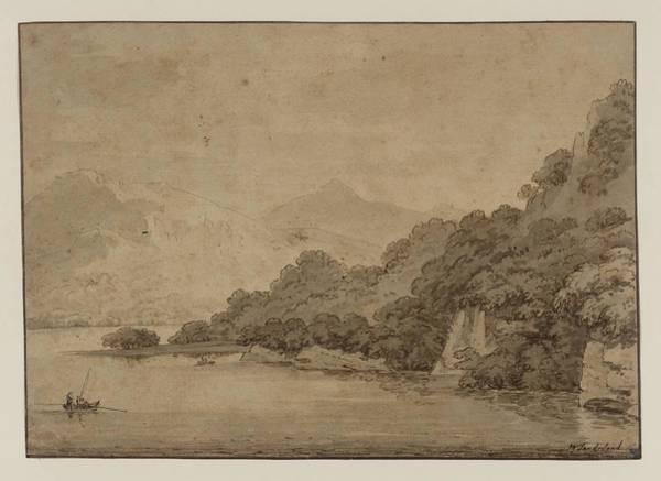 Grasmere Lake Art Print