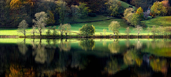 Bankside Photograph - Grasmere Reflections by Chris Beard