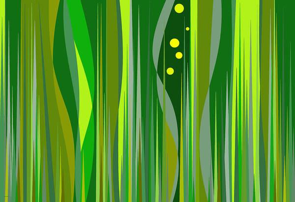 Digital Art - Grass by Val Arie