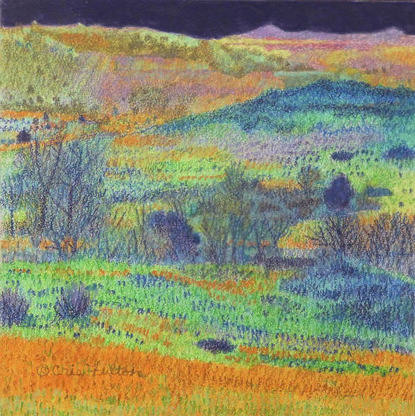 Painting - Grassland Fantasy by Cris Fulton