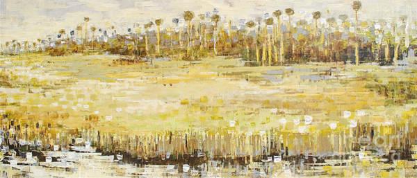 Painting - Grassland Strand by Kaata  Mrachek