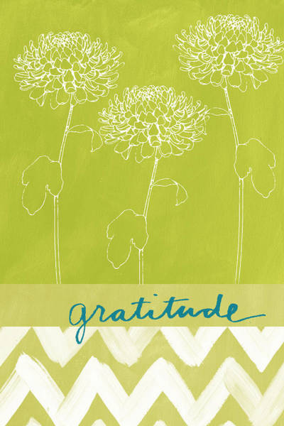 Wall Art - Painting - Gratitude by Linda Woods