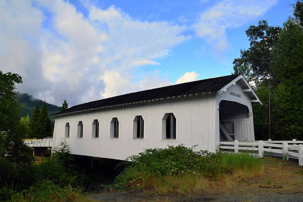 Interstate 5 Wall Art - Photograph - Grave Creek Bridge Grants Pass Oregon by Barbara Snyder