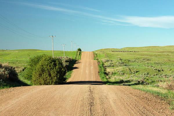 Photograph - Gravel Rock Road by Todd Klassy