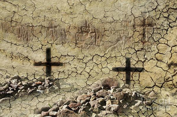 Wall Art - Photograph - Graves At Tumacecori by Bob Christopher