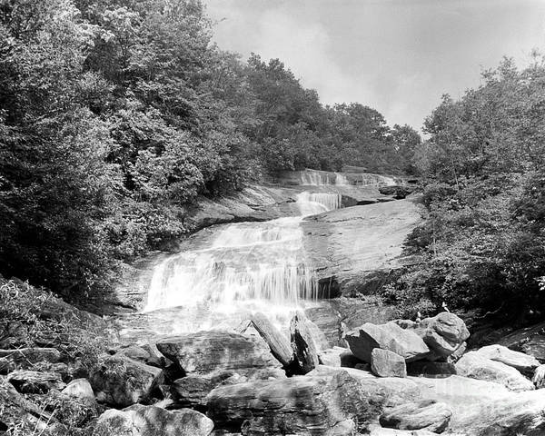 Wall Art - Photograph - Graveyard Fields Falls by William Wetmore