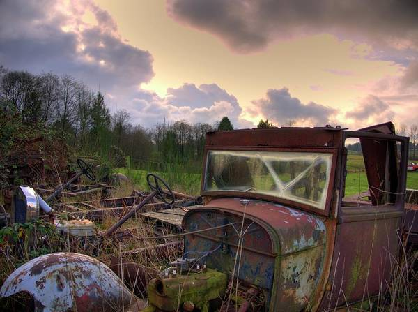 Photograph - Graveyard by Lawrence Christopher