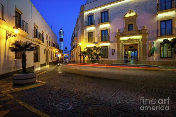Photograph - Gravina Street Rota Cadiz Spain by Pablo Avanzini