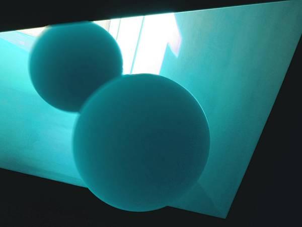 Digital Art - Gravitas - Study In Teal by Vincent Green
